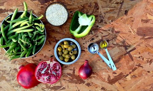Ingrediënten quinoa salade | Jouw Fabriek