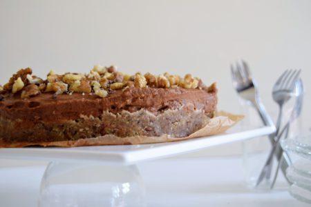 Chocolade walnoten taart   Jouw Fabriek