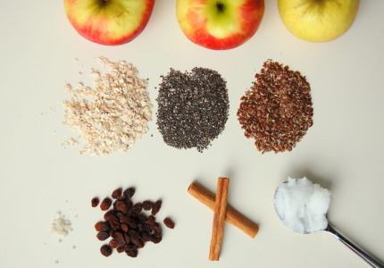 ingrediënten vegan appel cake