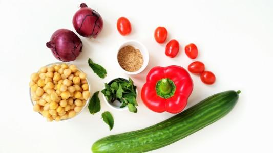 ingrediënten-kikkererwt-salade