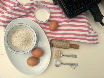 Ingrediënten gezonde wafels | Jouw Fabriek