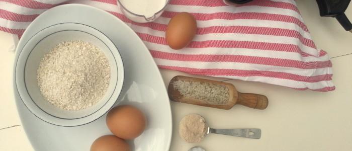 Ingrediënten gezonde wafels   Jouw Fabriek