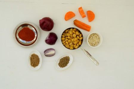 ingrediënten-vegaburger