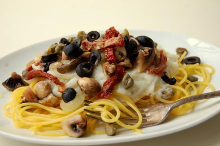 pasta-met-bloemkoolsaus