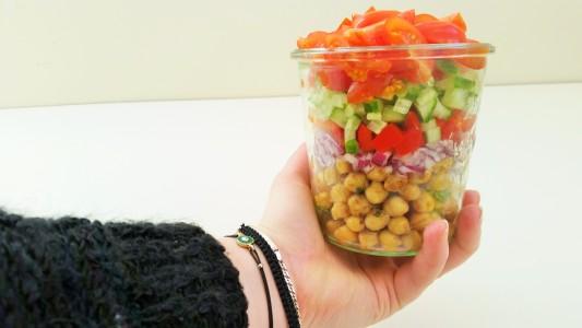 salade-kikkererwten