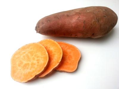 zoete aardappel chocolade taartjes